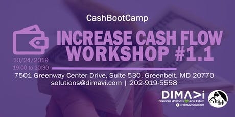 * INCREASE CASH FLOW WORKSHOP * tickets