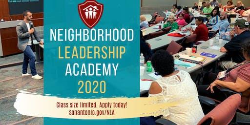 2020 Neighborhood Leadership Academy