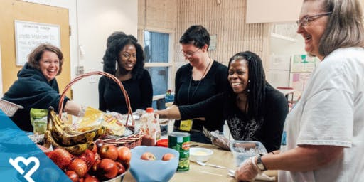 Volunteer with Project Helping to Serve Dinner to Women & Transgender Individuals in Need (The Delores Project)