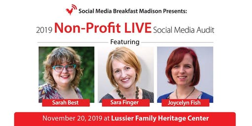 2019 Non-Profit LIVE Social Media Audit