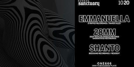 Sunday Sanctuary presents:  EMMANUELLA, 28MM, SHANTO tickets