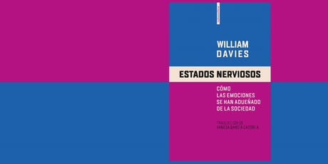 Estados nerviosos. Encuentro con William Davies entradas