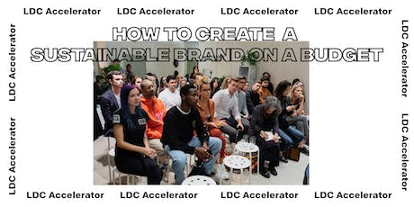 LDC Accelerator: How to create a sustainable brand on a budget tickets