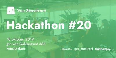 Vue Storefront Hackathon Amsterdam (Second Edition