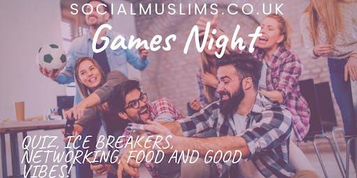 Social Muslims Networking |  Games Night  | Meet Singles, Make Friends