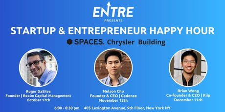 Startup & Entrepreneur Happy Hour - NYC tickets