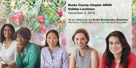 Bucks County Chapter ABWA Holiday Lunch tickets