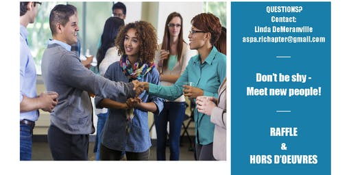Rhode Island Chapter of the American Society for Public Administration (RIASPA) Mix & Mingle Networking Event
