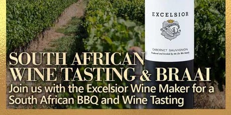 South African Braai (BBQ) and Wine Tasting w/ Winemaker tickets