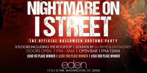 DC Union: NIGHTMARE ON I ST COSTUME PARTY