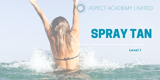 Spray Tanning Level 1, Fully Accredited Qualification.