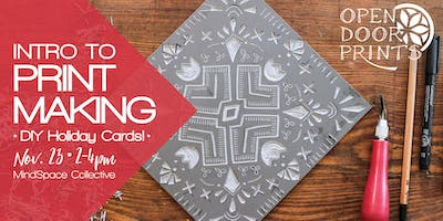 Intro to Printmaking: DIY Holiday Cards