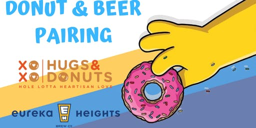 Donut and Beer Pairing with Hugs & Donuts