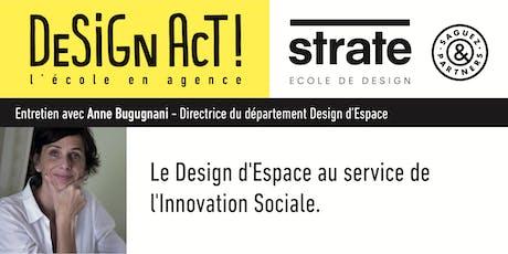 Class Strate - Anne Bugugnani, directrice du département Espace billets