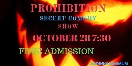 Secert Comedy Show tickets