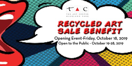 Recycled Art Sale Benefit tickets