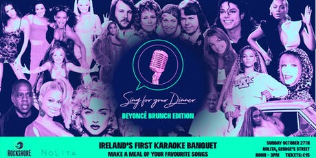 Sing for your Dinner: Beyoncé Brunch Edition tickets