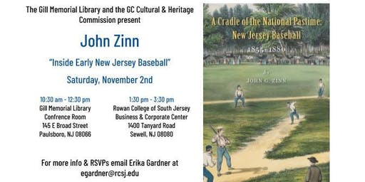 Inside Early New Jersey Baseball with John Zinn