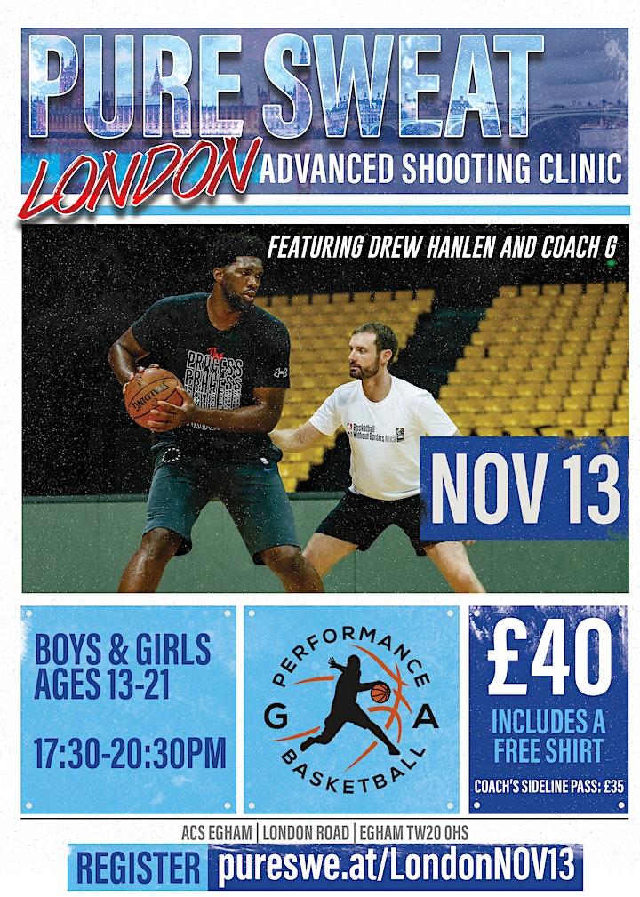 Drew Hanlen x G. A. Performance Basketball Clinic image