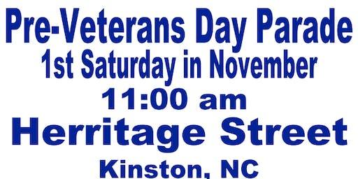 Kinston Veterans Parade