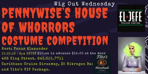 Wig Out Wednesday: Pennywise's House of Whorrors