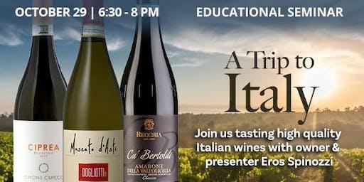 Educational Seminar: Italian Wines