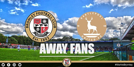 Bromley v Hartlepool United (AWAY FANS) tickets