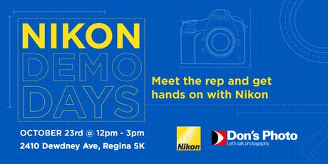 Nikon Demo Days tickets