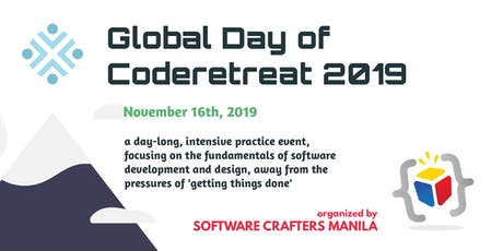 Global Day of Coderetreat 2019 - Manila tickets