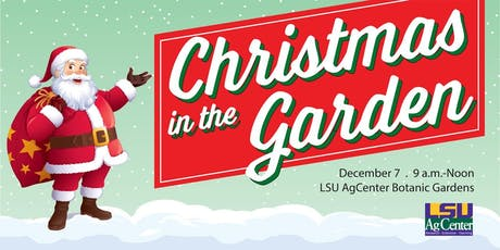 Christmas in the Garden tickets