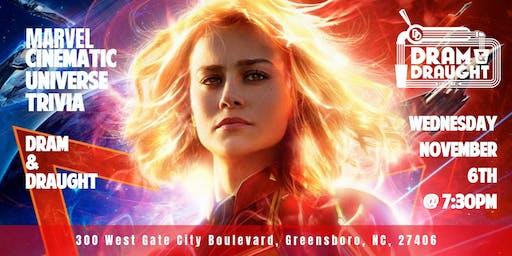 Marvel Cinematic Universe Trivia at Dram & Draught Greensboro