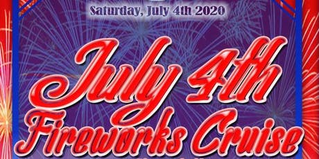 July 4th Fireworks Cruise Aboard the Athena Yacht tickets