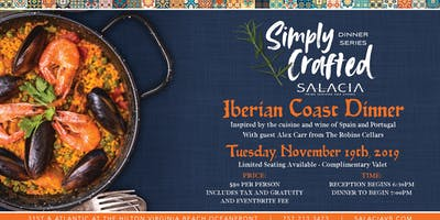 Simply Crafted - Iberian Coast Dinner
