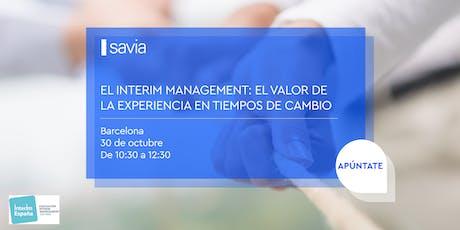 El interim management: el valor de la experiencia en tiempos de cambio entradas
