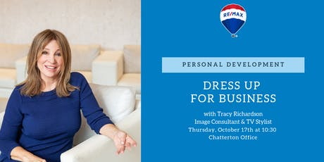 Dress up for Business with Tracy Richardson, Image Consultant & TV Stylist tickets