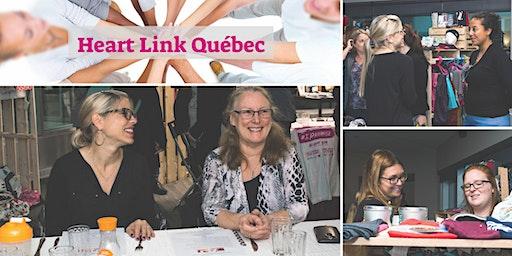 Souper   Heart Link pour Femmes d'Affaires et de Coeur