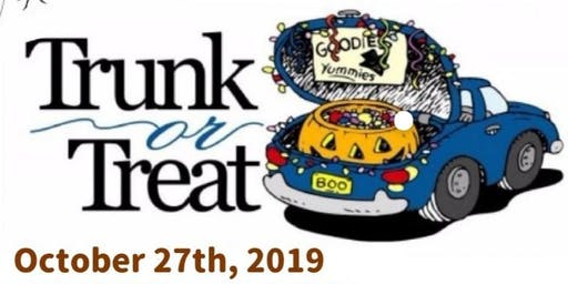 Halloween Trunk of Treat & Parade