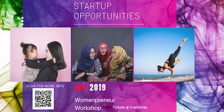 Ideal Startup Opportunities for Women & Wives tickets