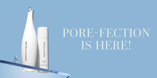 Pop Up Pore-Fect Event