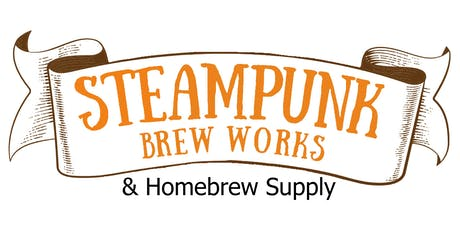 Steampunk Brew Works and Homebrew Supply Grand Reopening and Homebrew Comp. tickets