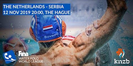 World League Waterpolo Heren NED-SRB tickets