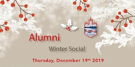 Webber Academy Alumni Winter Social billets