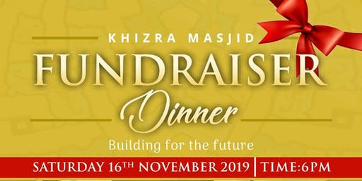Fundraiser Dinner - Building For The Future