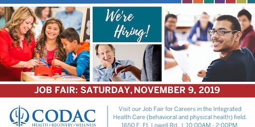 CODAC Job Fair - November 9, 2019