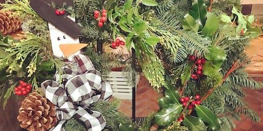 Winter Wreath Decorating Class