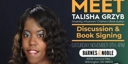 Children's Book Signing with TaLisha Grzyb at Barnes & Noble