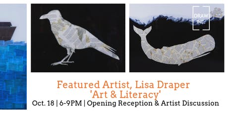 Art Exhibit: Art & Literacy, Lisa Draper tickets
