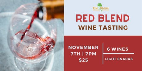 Red Blend Wine Tasting at The Stone tickets
