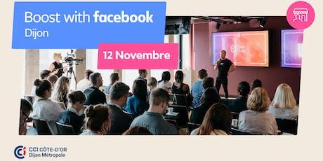 Boost with Facebook avec la CCI Côte-d'Or Dijon Métropole billets