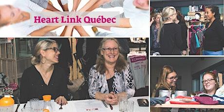VIRTUEL Souper | Heart Link pour Femmes d'Affaires et de Coeur billets